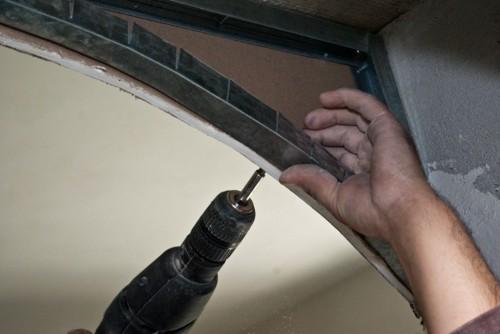 как крепить арку из гипсокартона