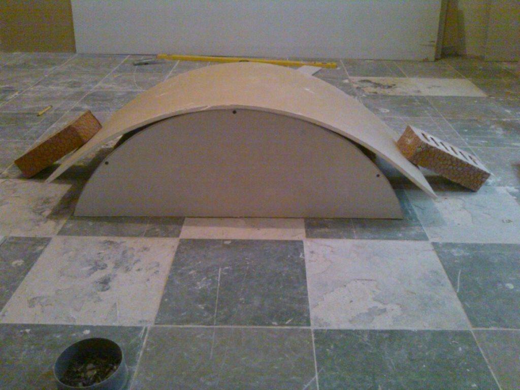 арка из гипсокартона пошаговая инструкция