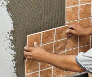 Укладка плитки на стену пошаговая