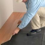 Как положить ламинат на пол?