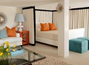 Як поєднати вітальню зі спальнею і не втратити в комфорті