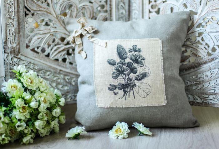 подушка для стиля винтаж