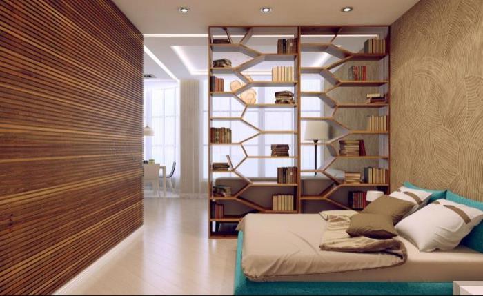 Как совместить гостиную со спальней