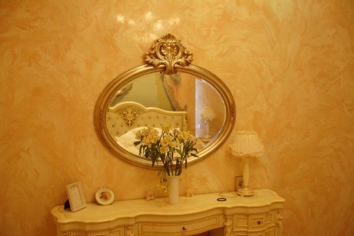 венецианская штукатурка желтая
