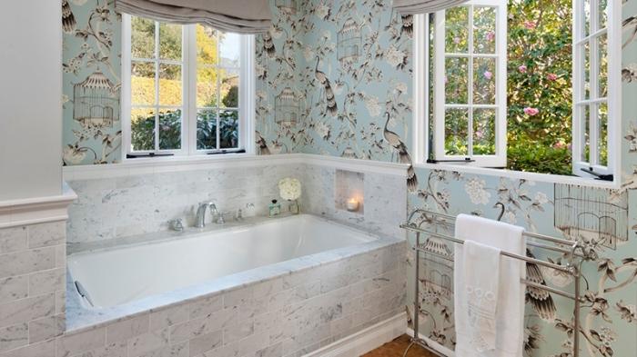 моющиеся обои в ванную