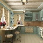 Кухня в стилі прованс: очарування простоти