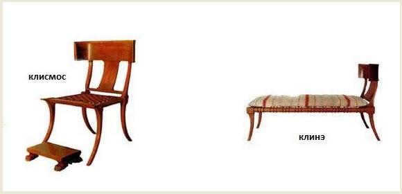 античные стулья