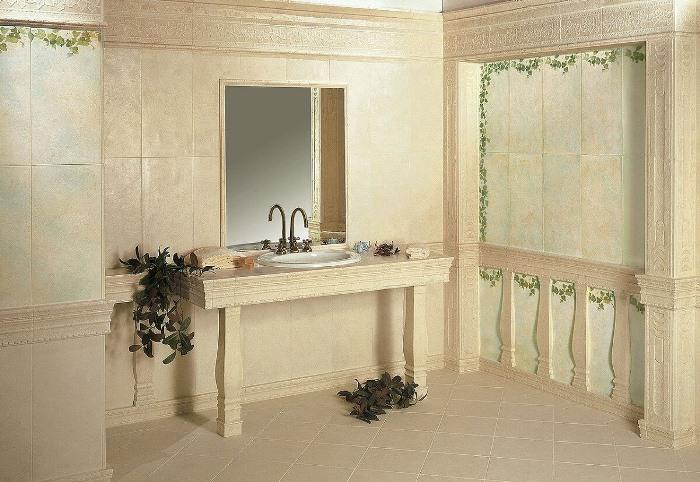 ванная античного стиля
