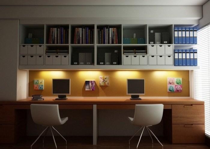 освещение в кабинете