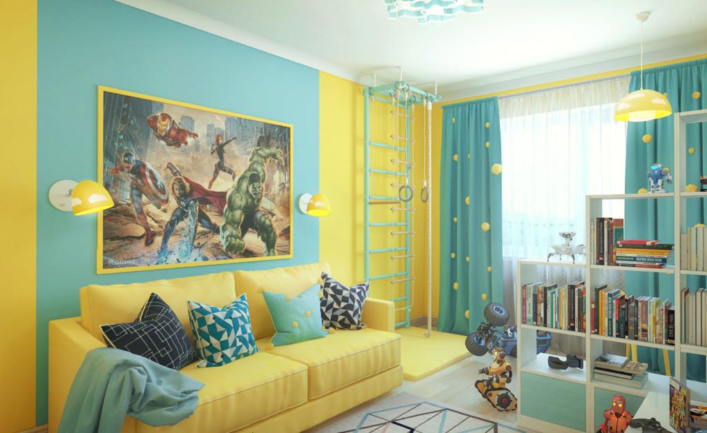 Какой цвет для детской комнаты выбрать