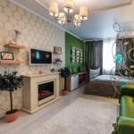 Как разделить зону спальни и гостиной приемами дизайна и отделки