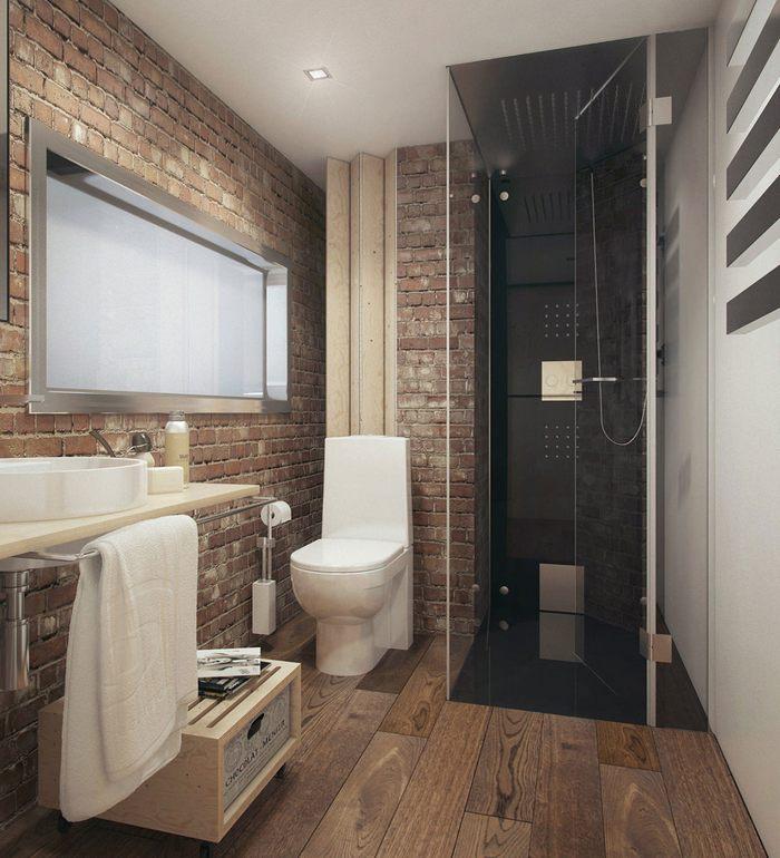 Bathroom Remodel Ideas To Inspire You: Дизайн ванной комнаты в стиле лофт (индустриальный