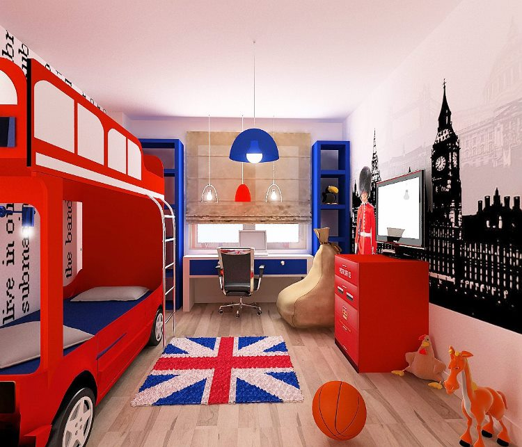 c87ba34b9e8a Комната в стиле Лондон: частичка туманного Альбиона - Обустрой дом