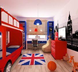 Комната в стиле Лондон: частичка туманного Альбиона