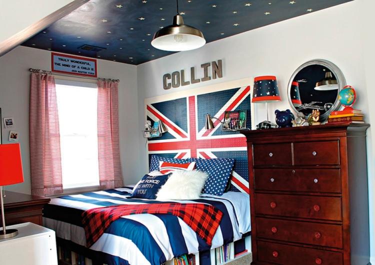 комната в стиле лондон
