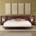 Ліжко в японському стилі – простота і практичність