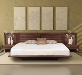 Кровать в японском стиле — простота и практичность