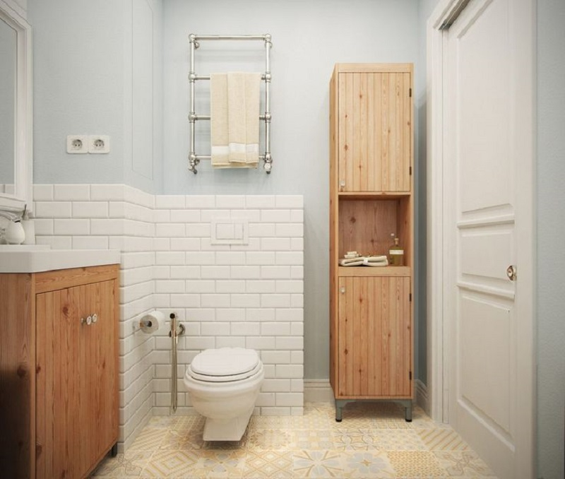 Scandinavian bathroom