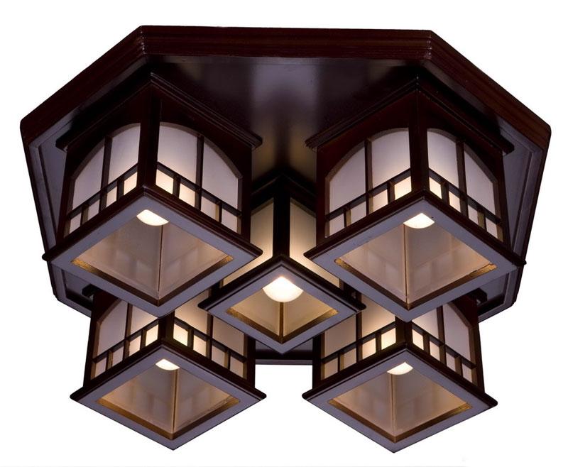 Світильники в японському стилі