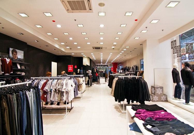 Освітлення торгівельних залів та центрів