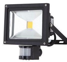 Прожектори світлодіодні вуличні з датчиком руху