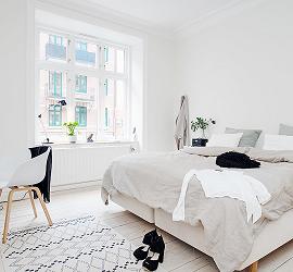 Спальня в скандинавском стиле: уют в простоте