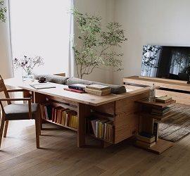 Консольний столик за диваном: фотоприклади використання