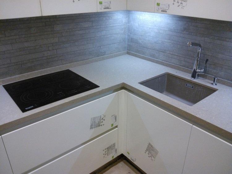 кухонная солешница из искусственного камня